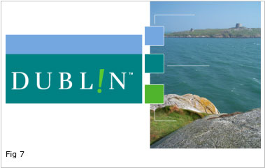 Example of drawing a colour scheme from Nature: Dublin, Ireland